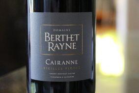 Andre Berthet Rayne Cairanne VV