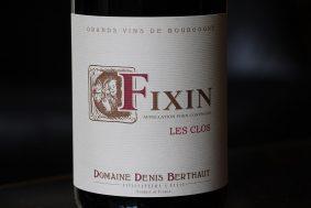 2013_Berthaut_Fixin_Le_Clos