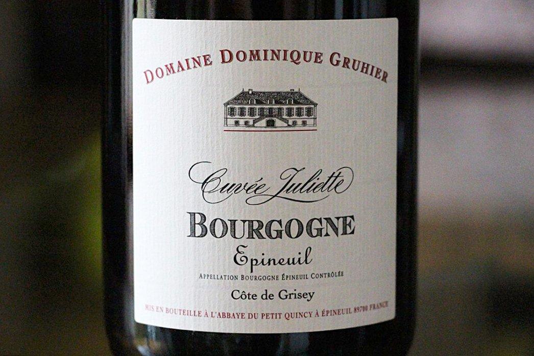Dominique Gruhier Cuvee Juliette