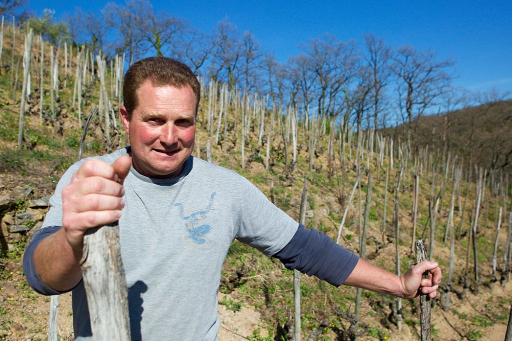 Domaine Rousset winemaker