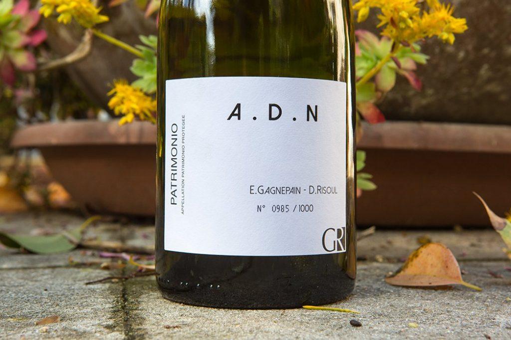 Gagnepain et Risoul Vins, A.D.N. Patrimonio Blanc
