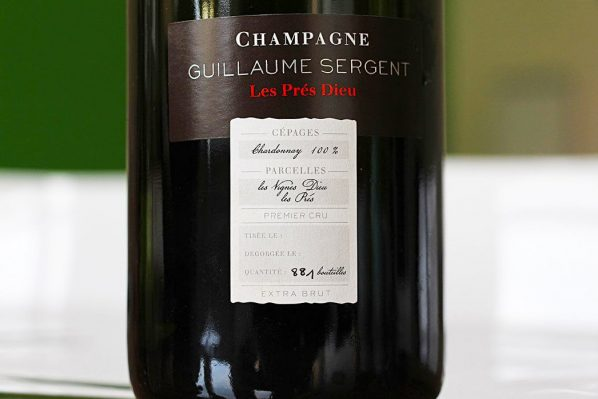 Champagne Guillaume Sergent Chemin Chappes