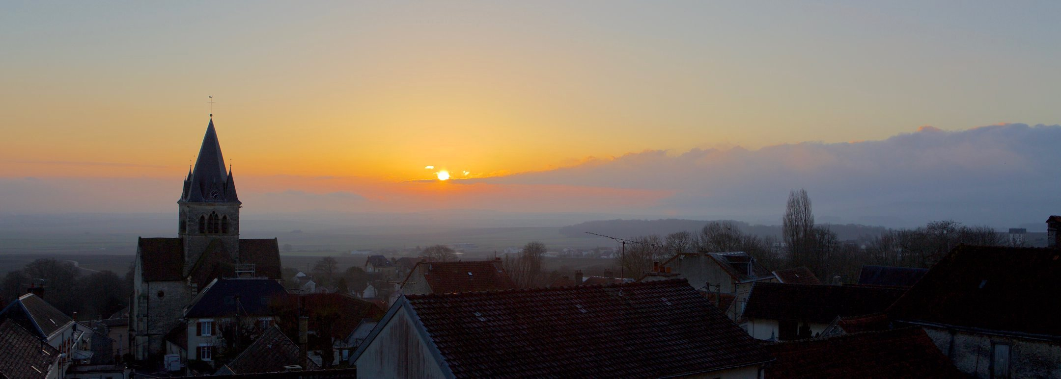 Sunrise in Champagne