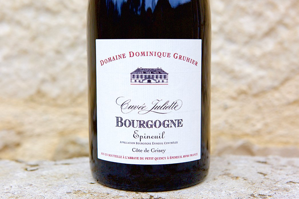 Bourgogne Epineuil Cuvee Juliette